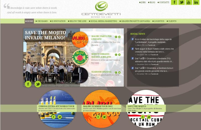 On line il nuovo sito di Cento&venti
