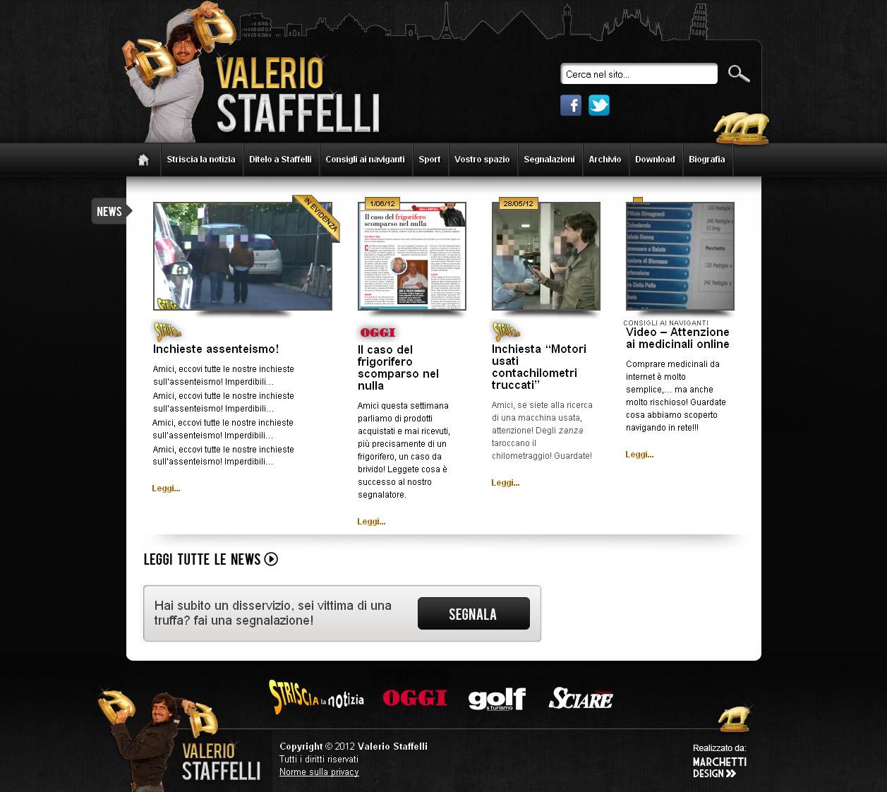 Home Page Fancierstudio Com: Valerio Staffelli