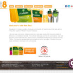 On line il sito di Vit8 Fruit Pulp