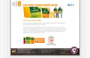 On line il sito di Vit8 Fruit Pulp