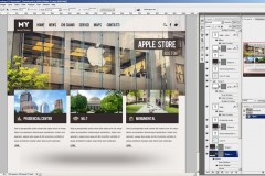 Come disegnare un sito web in photoshop con logica