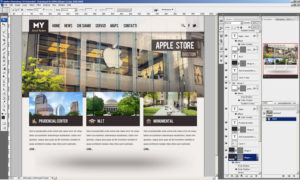 Layout in Photoshop