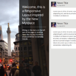 New My Space horizontal scroll layout with Jquery