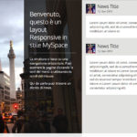 Ricreare l'Horizontal scroll layout del NewMyspace