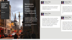 Ricreare l'Horizontal scroll layout del NewMyspace