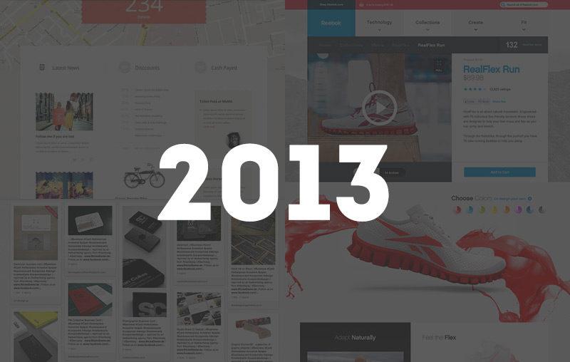 Trend del Web Design per il 2013