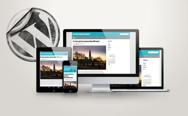 Creare il tuo primo Tema WordPress Responsive