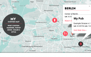 Google Maps personalizzate e accattivanti per i nostri design