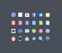 10 Set di Icone (Free) di qualità per i nostri Design