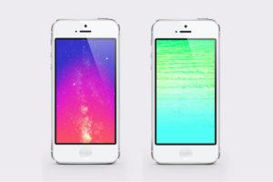 Creare uno sfondo per iPhone in stile iOS 7 con Photoshop