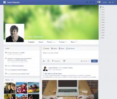 Template Psd di siti popolari come Facebook, Apple, Rdio in Free Download