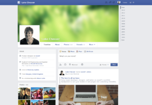 Template Psd di siti popolari come Facebook, Apple, Rdio in Free Download