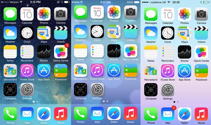 Ben noto Creare uno sfondo per iPhone in stile iOS 7 con Photoshop UZ28