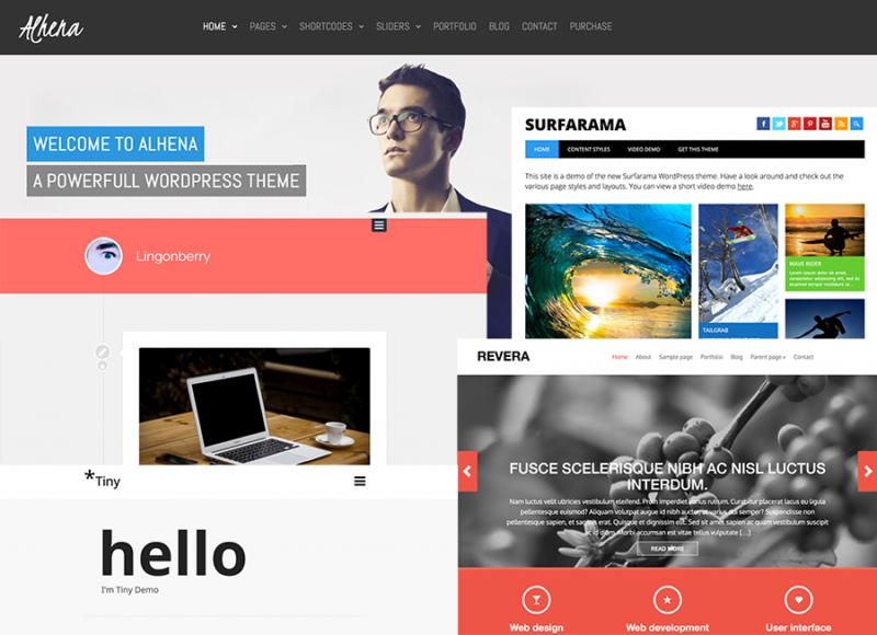 10 Temi WordPress Responsive Free & Flat
