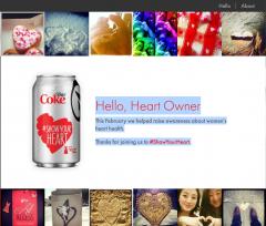 Coca Cola #ShowYourHeart: Analisi della Campagna e del Layout a Griglia Emozionale