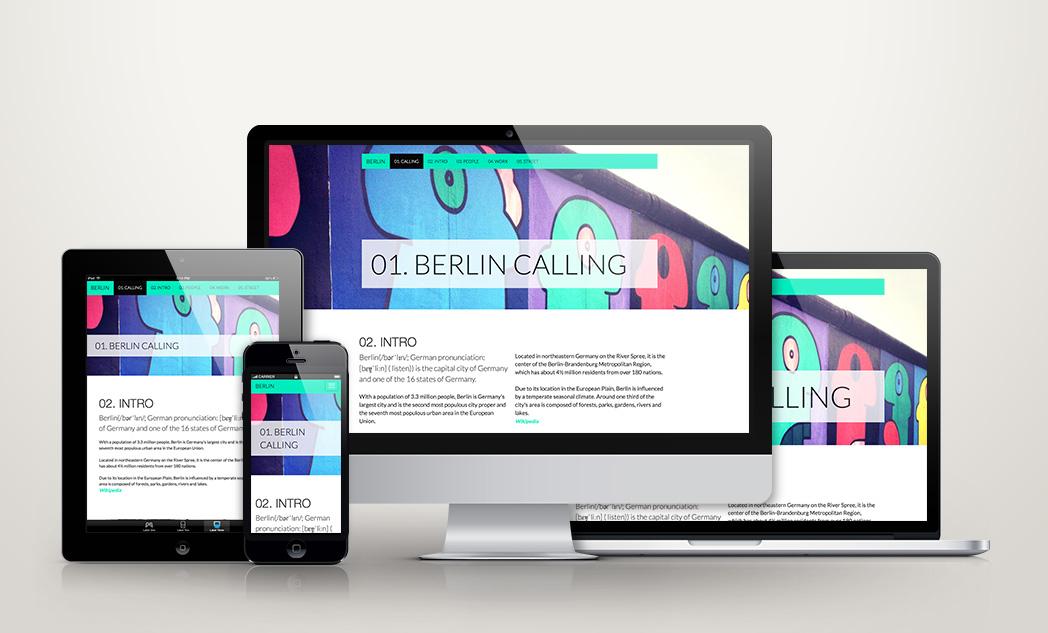 Creare un parallax design accattivante e responsive con for Creare design