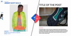 Adidas Originals: un Blog Responsive per comunicare in maniera innovativa
