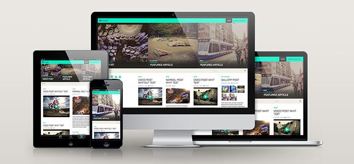 FULLBY: Free Responsive Grid WordPress Theme
