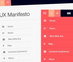 Creare un Sidebar menu Responsive stile App con Bootstrap