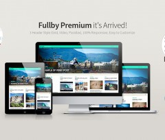 Fullby Premium: Responsive Grid, Video, Parallax WordPress Theme