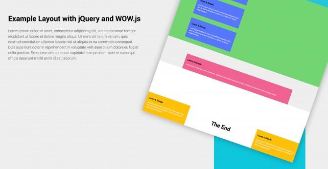 Creare una Landing Page animata con WoW