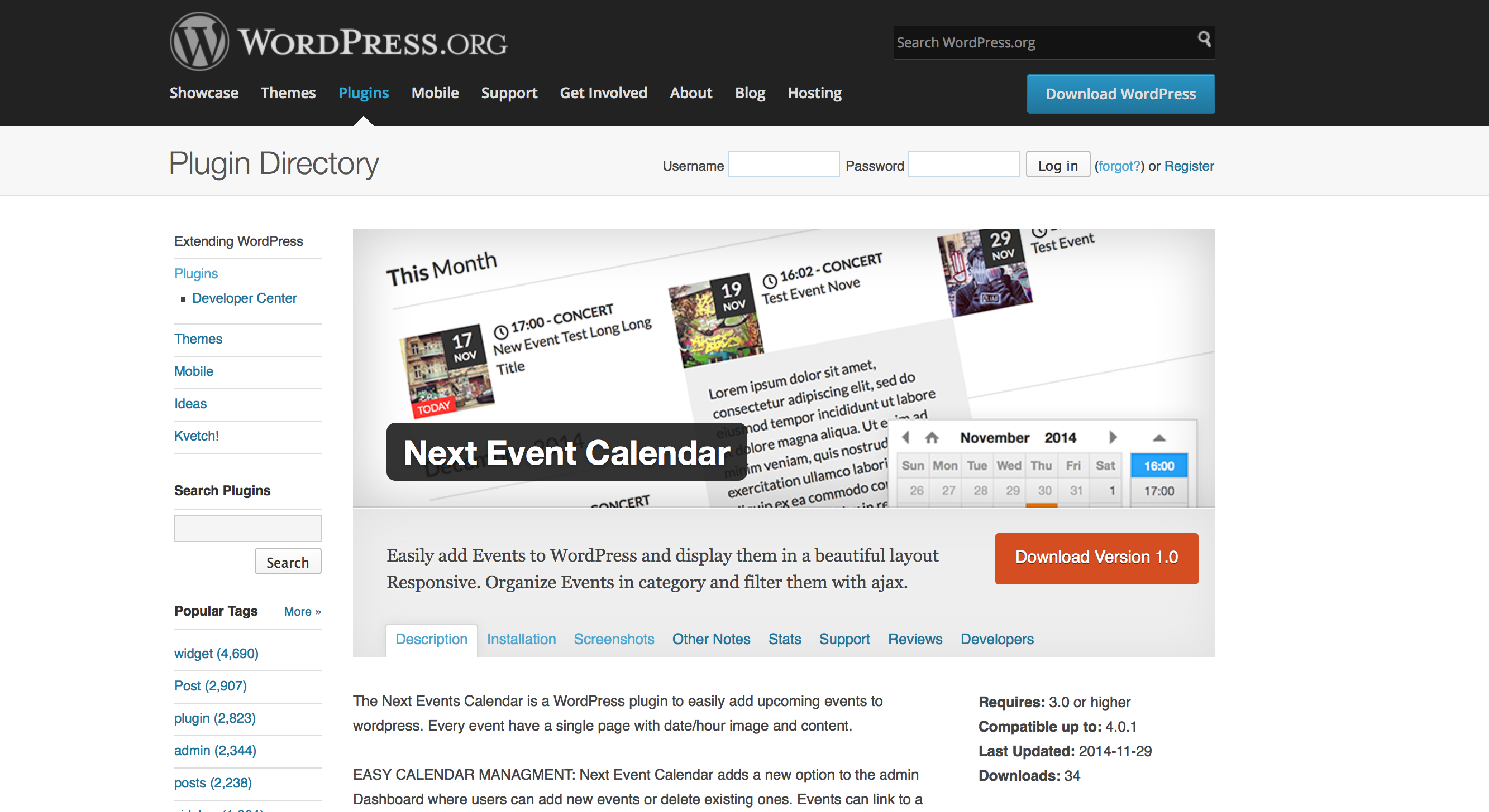 how to delete all events in the event calendar plugin