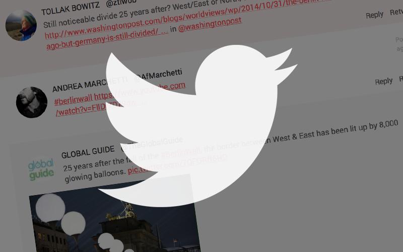 Inserire gli Utlimi Tweet in una pagina Web creando un Widget Responsive