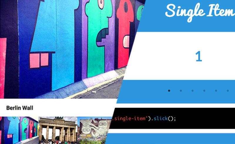 Creare uno Slider Responsive e Touch Ready con Slick Slider