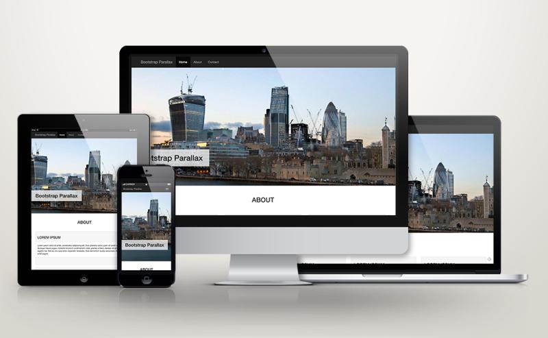 Creare un parallax design con bootstrap vol 2 marchetti for Creare design