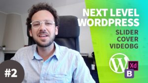 Creare un Tema WordPress dal Design al Codice con Bootstrap NLW#2 – Design Slider e Cover Video
