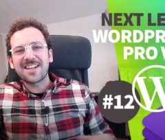 Next Level WorPress PRO il corso completo su come sviluppare un Tema WordPress